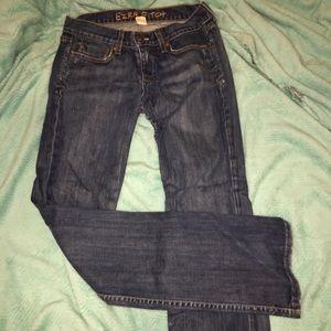 Jeans , Abercrombie's past premium label